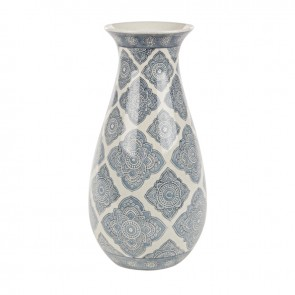 VASO ARABESQUE PORCELLANA  H35.5