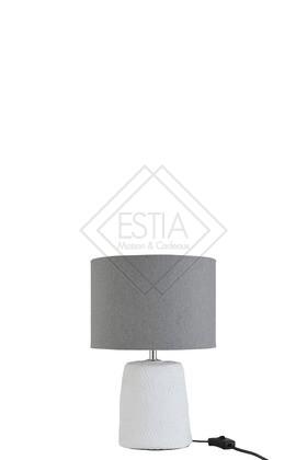 LAMPADA CON PARALUME IN CERAMICA 20.5X20.5X34