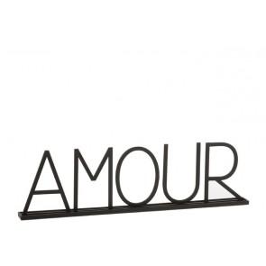 Amour Metallo Nero 77x5x22