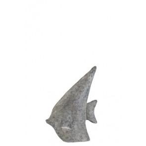 Pesce Magnesia Grigio/Oro Small 29.5x10x40