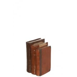 Libri Resina Marrone Medium 11x15x20