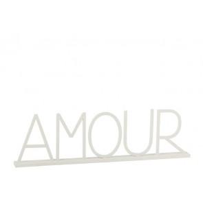 Amour Metallo Bianco 77x5x23