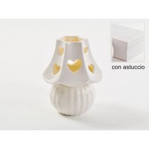 LUMETTO CON LED 8.5XH10CM CON ASTUCCIO