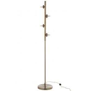 LAMPADA DA TERRA YUKS 4 LAMPADINE ORO 28X28X160CM