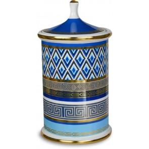 BACI MILANO PORTAOGGETTI GRANDE NAVY Porcellana - Ø 15 cm, H 28,5 cm