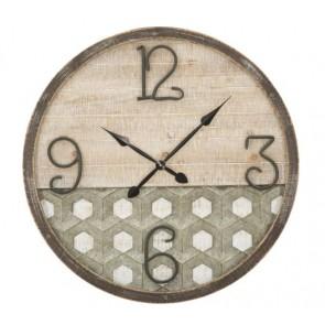 Orologio da muro in legno cm d80x3.5