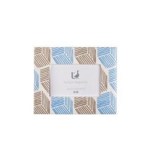 Portafoto rettangolare piccolo in ceramica 19x23,5x2