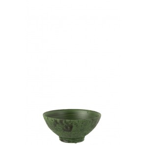 Portavasi Basso Army Ceramica Verde Small 35.5X35.5X16.5