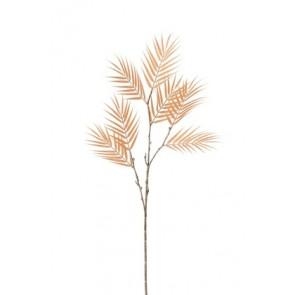 Ramo Bambu Fine 3 Parti Plastica Salmone 14x14x89 cm